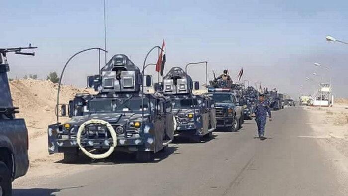 Сосредоточение сил коалиции перед штурмом Мосула