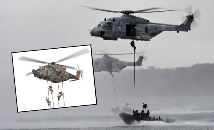 Спецназ Франции получит вертолет NH90