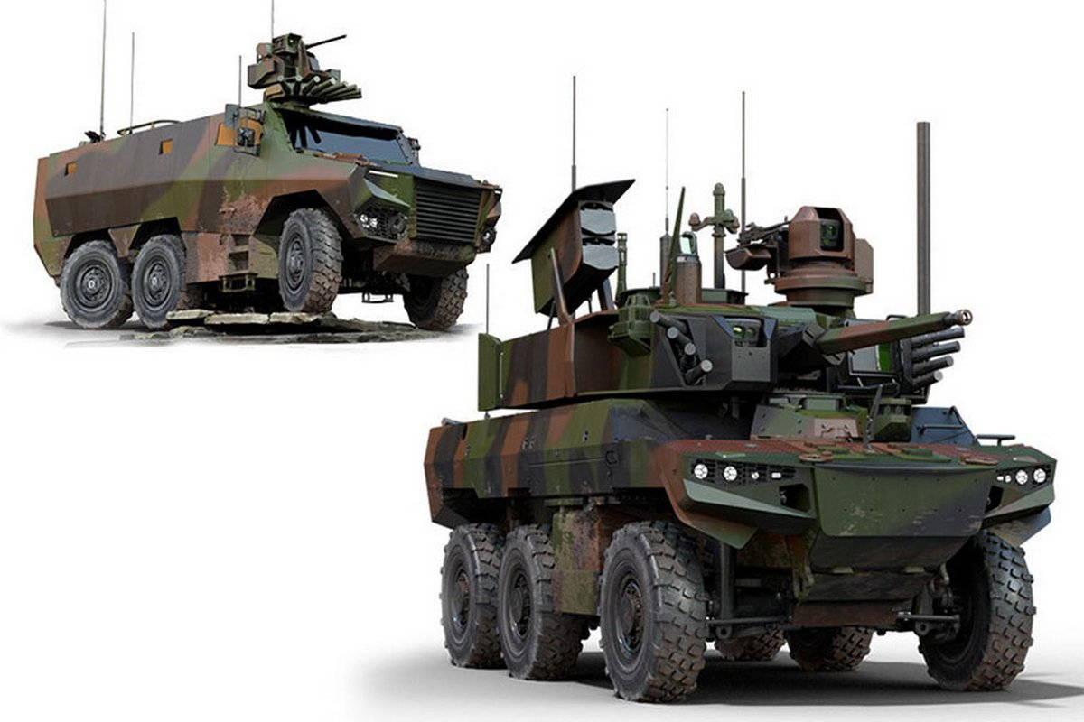 Второй транш боевых машин для программы «Скорпион»