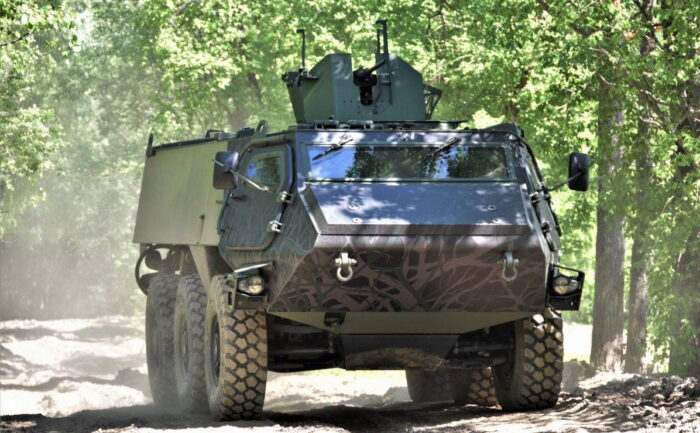 БТР Patria 6x6