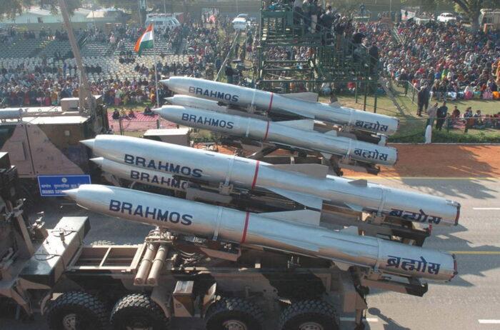 Ракеты «Брамос» совместной российско-индийской разработки