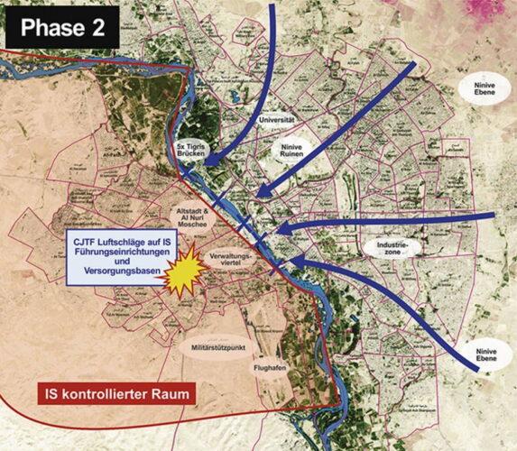 Фаза 2 Освобождение восточного Мосула