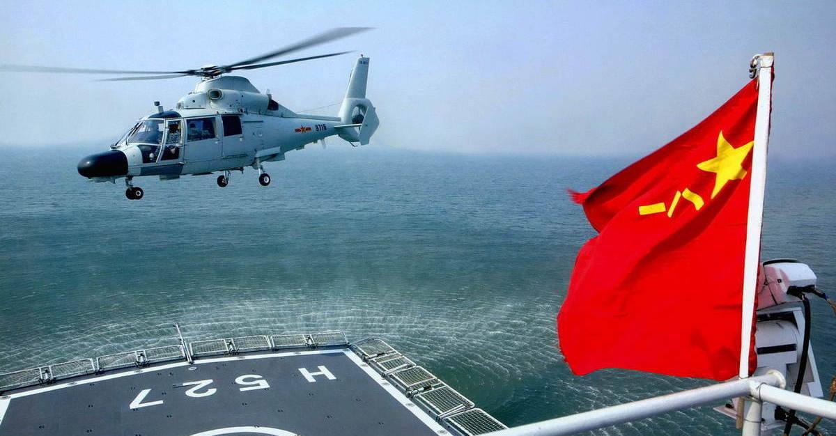 Противолодочные вертолеты ВМС НОАК