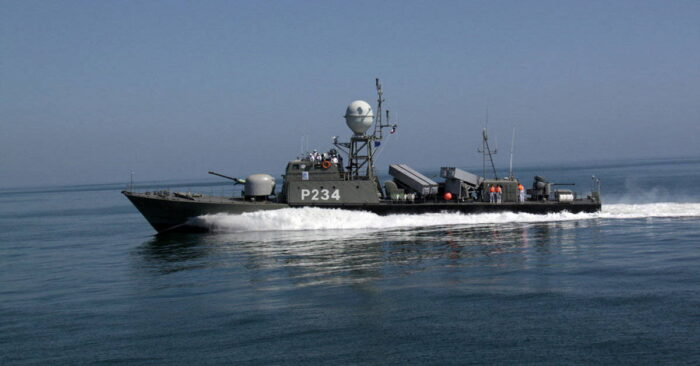 Катер «Сепар» ВМС Ирана