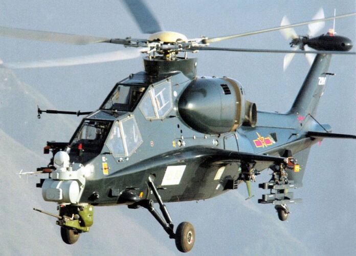 Ударный вертолет «Учжи-10» (WZ-10)