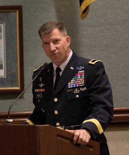 Бригадный генерал армии США Дэвид ХОДН