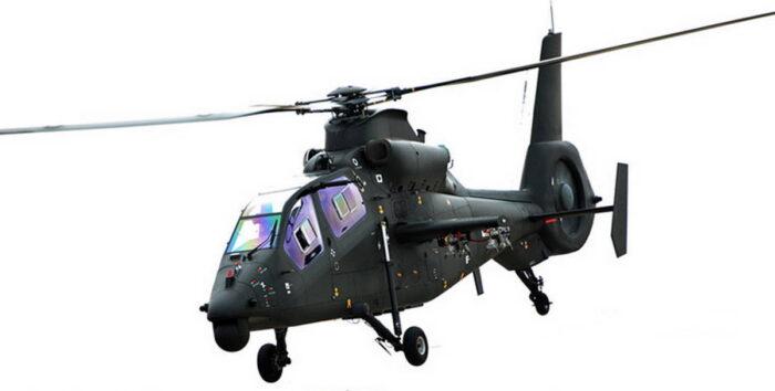 Легкий разведывательно-ударный вертолет «Учжи-19»