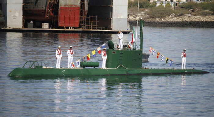 Малая подводная лодка «Гадир»
