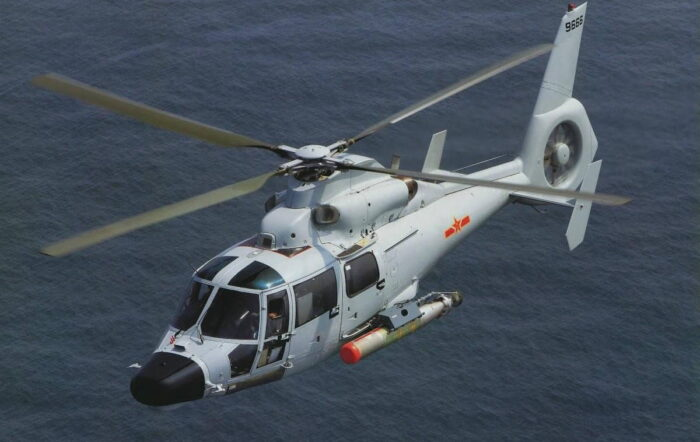 Палубный противолодочные вертолет Z-9