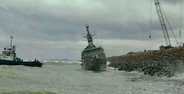 Авария с фрегатом «Дамаванд»