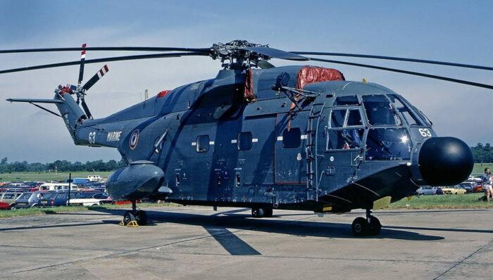 Исходная модель SA321 Aerospatiale