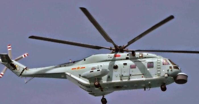Противолодочный вертолет «Чжи-18» (Z-18) ВМС НОАК