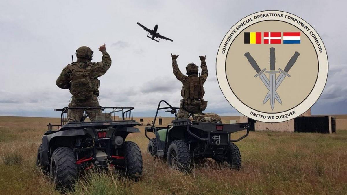 Составной компонент специальных операций НАТО