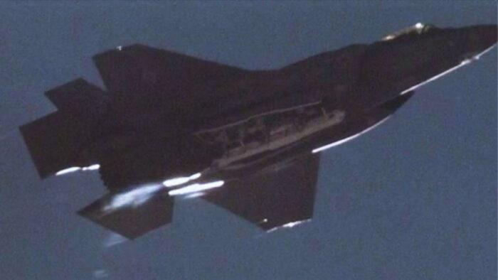 Атомная бомба в отсеке F-35A. Август 2020