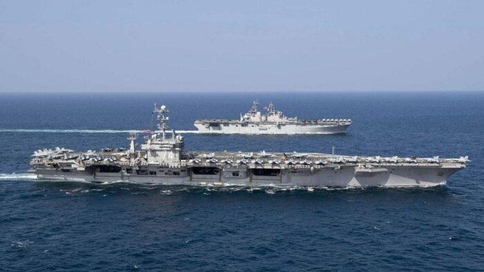 Десантные корабли АДГ ВМС США