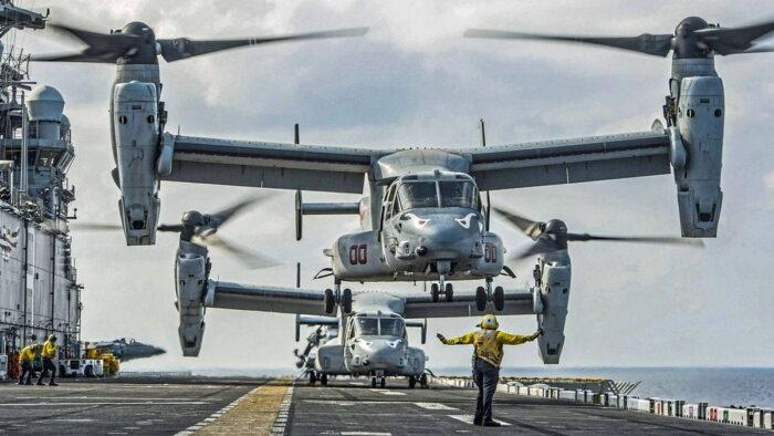Конвертопланы MV-22B/C Osprey