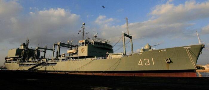 Вспомогательное судно «Харг» ВМС Ирана
