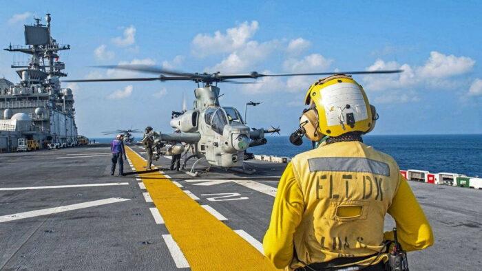 Ударный вертолет Bell AH-1Z