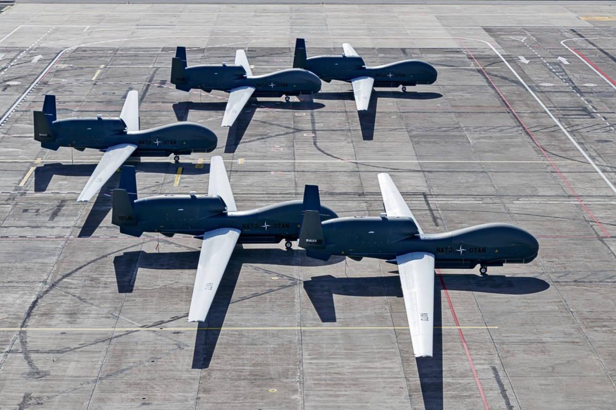 AGS НАТО достигла начальной готовности