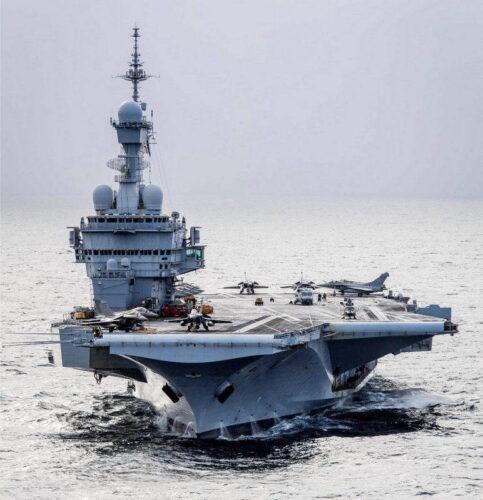 Авианосец «Шарль де Голь» ВМС Франции