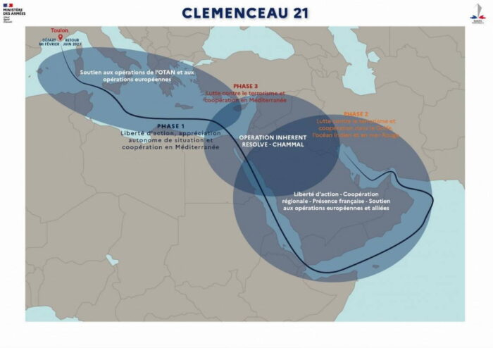 Этапы операции Clemenceau 21