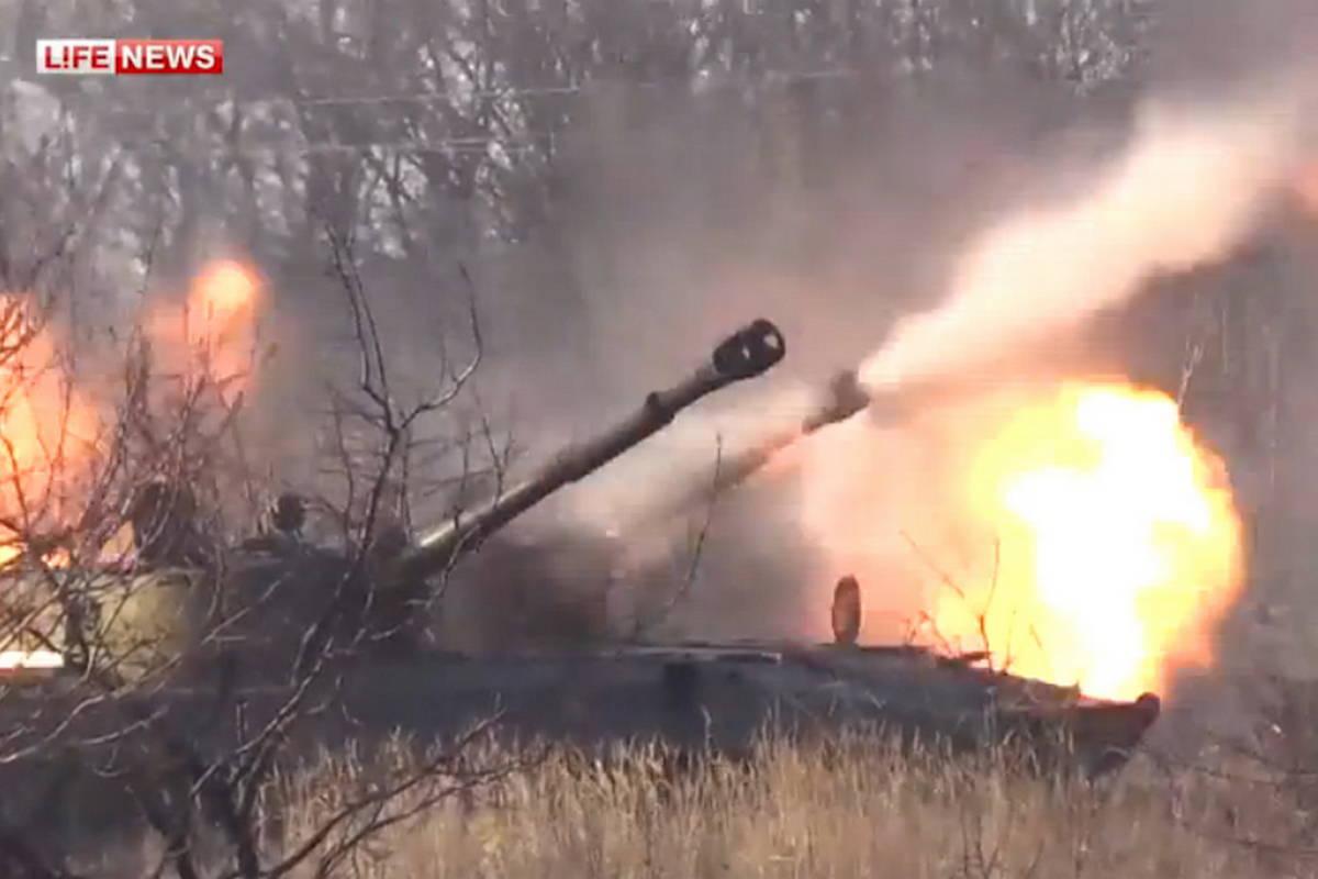 Артиллерия ополченцев ДНР контролирует трассу «М03»