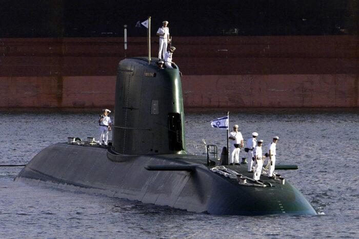 ПЛ типа «Долфин-I» подводных сил Израиля