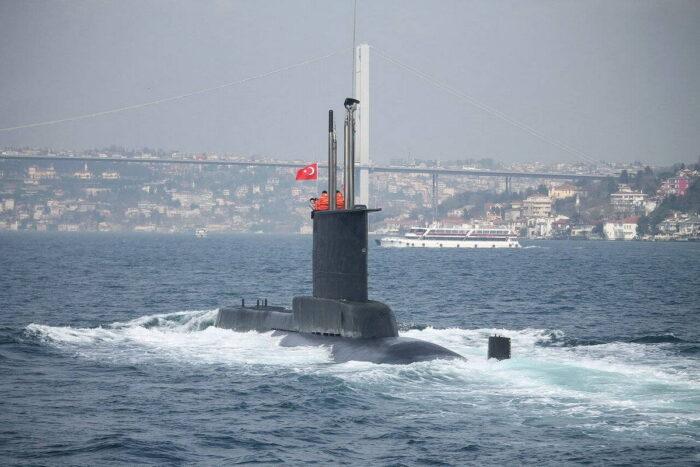 Турецкая ПЛ проекта AY, тип 209/1200