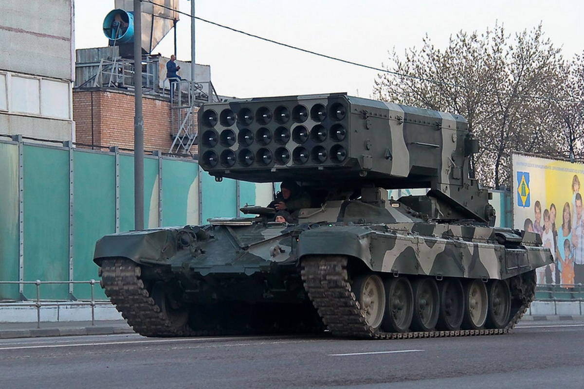 Тяжела огнеметная система ТОС-1 «Буратино»