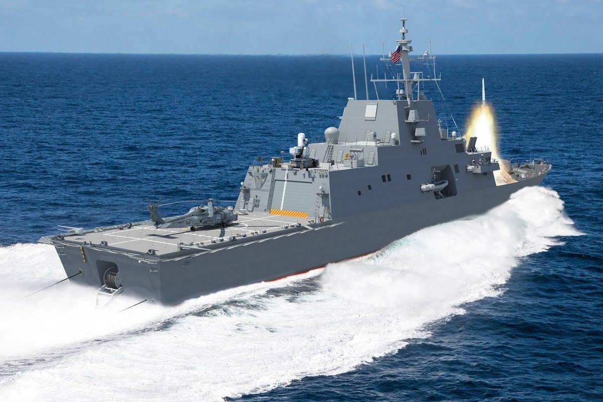 Фрегат проекта FFG(X) для ВМС США