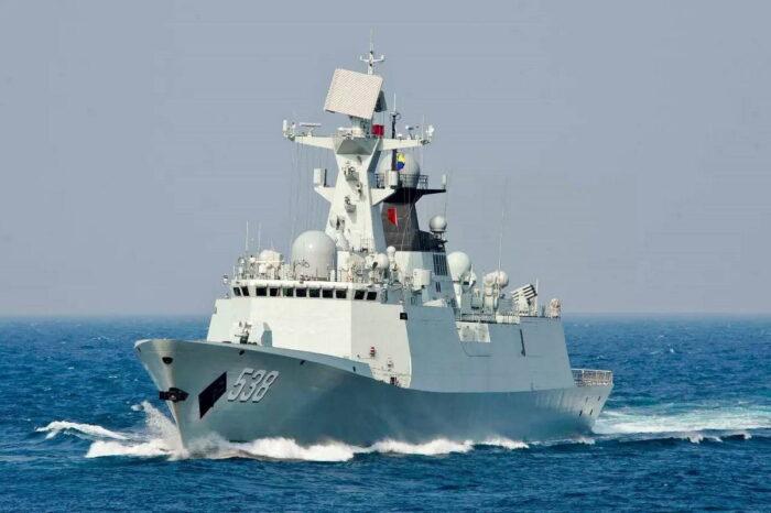 Фрегат проекта 054А ВМС НОАК