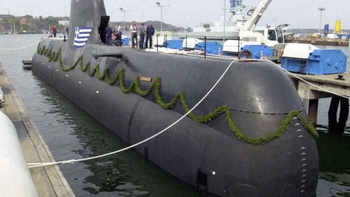 ПЛ типа 214HN ВМС Греции