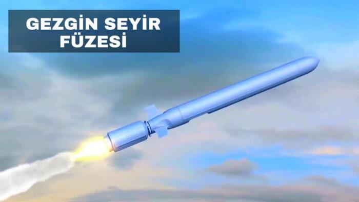 Крылатая ракета «Гезгин». Эскиз