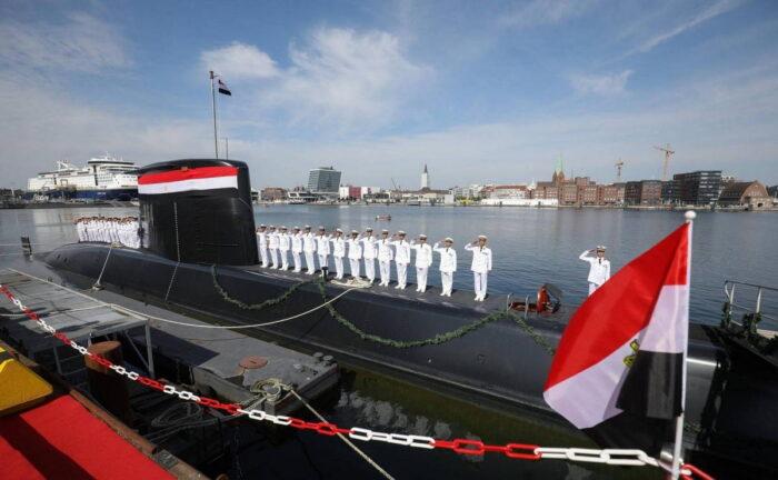 Передача ВМС Египта ПЛ типа 209/1400-Mod на верфи в Киле