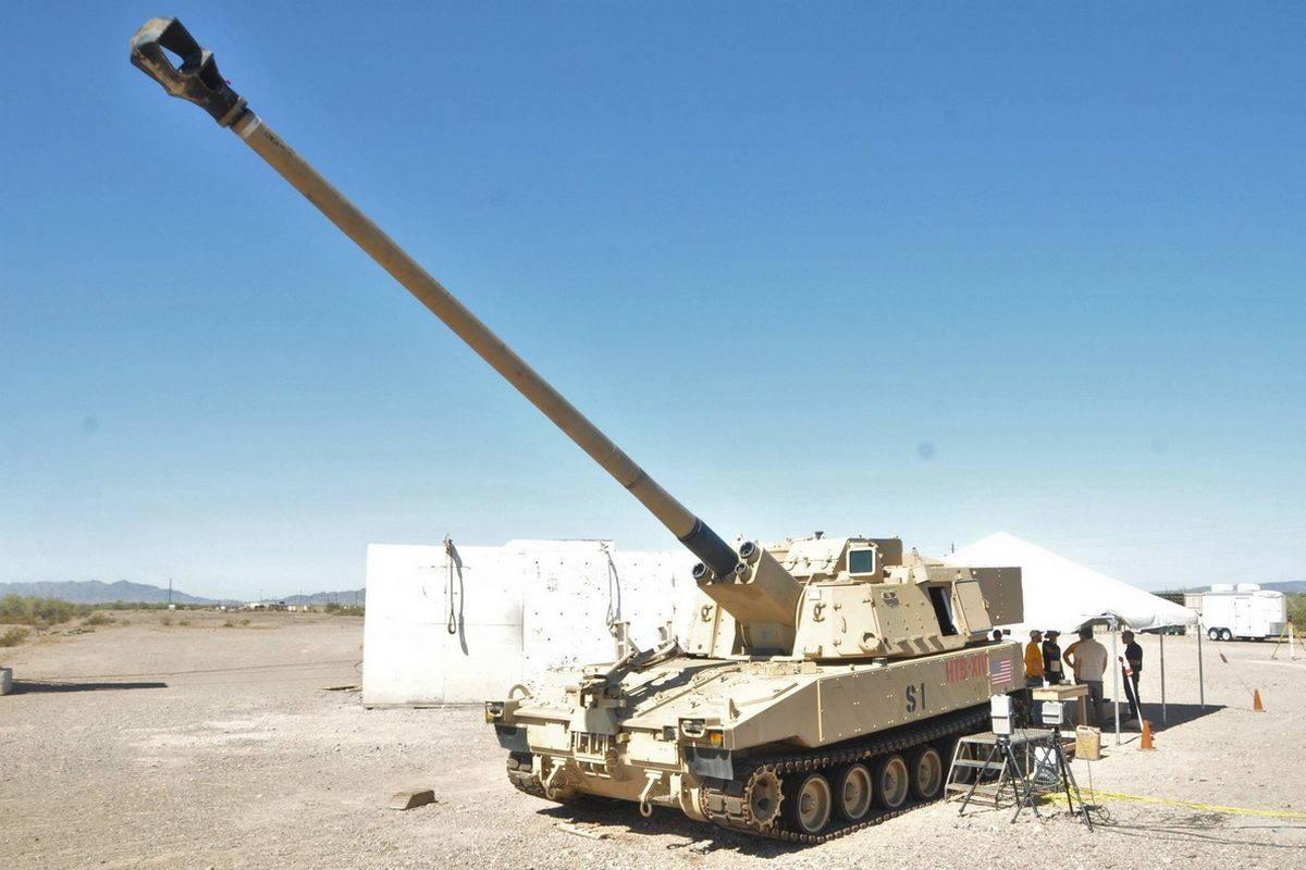 Артиллерия США увеличивает дальность стрельбы