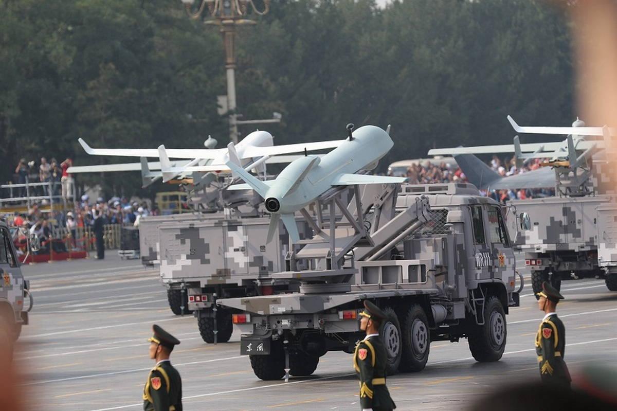 БПЛА НОАК: средства артиллерийской разведки