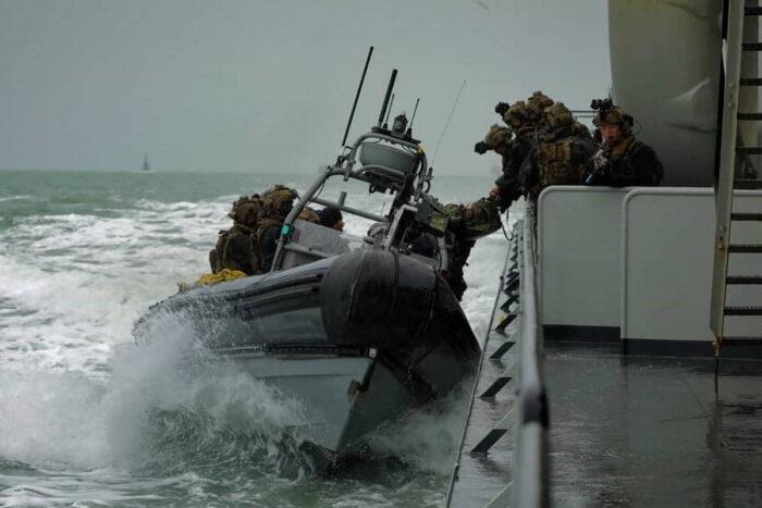 Морские силы специальных операций Бенилюкса усиливают взаимодействие