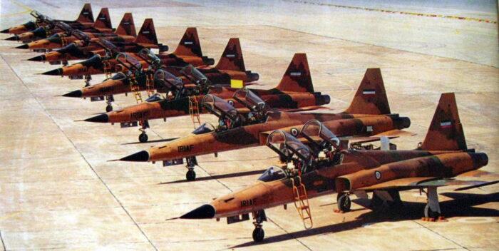 Истребители F-5 «Тайгер» ВВС Ирана