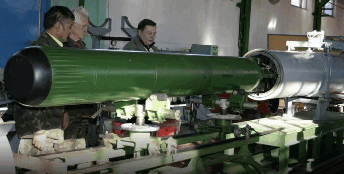 Противоторпеда комплекса «Пакет-Э/НК»