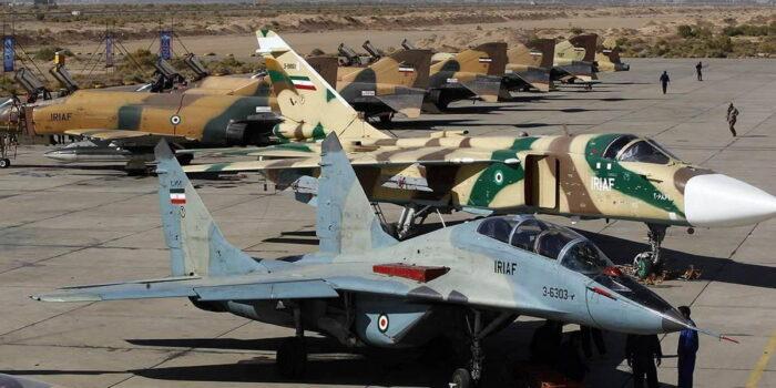 Су-24 и МиГ-29 ВВС Ирана