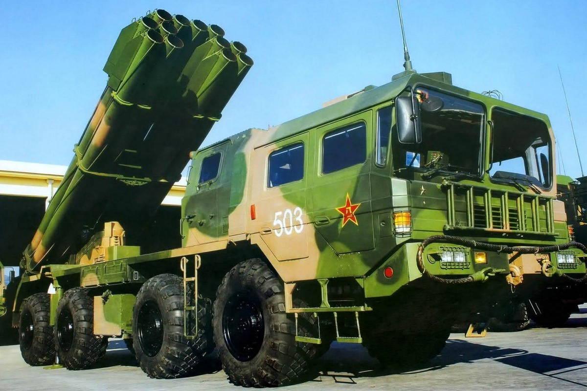 300мм РСЗО PHL-03 НОАК
