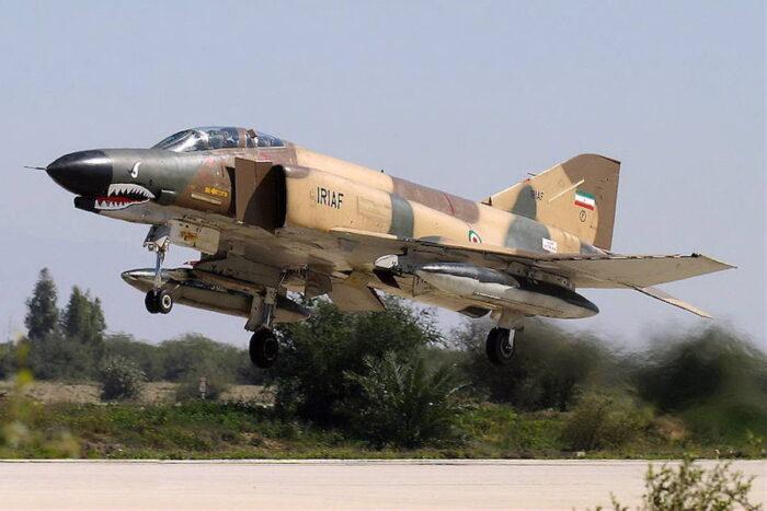 Истребитель F-4 Fantom ВВС ИРИ