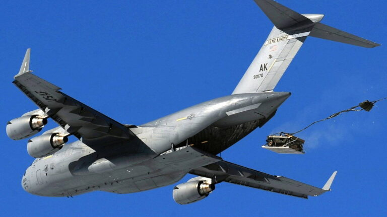 Средства десантирования тяжелого вооружения стран НАТО