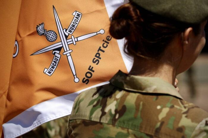Эмблема роты поддержки специальных операций