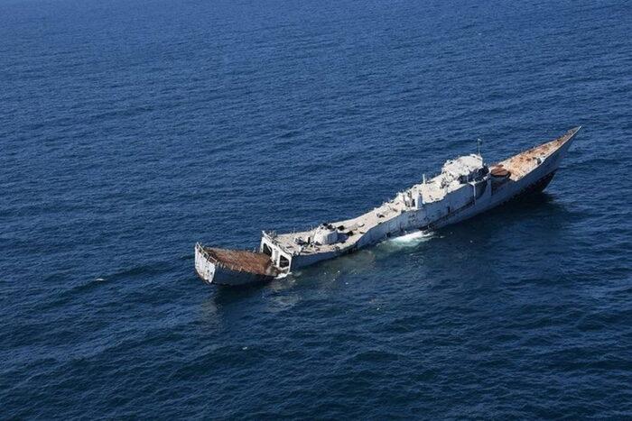 Поражение корабля-цели USS Duncan торпедным оружием