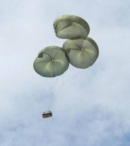 Средство десантирования ATAX. В воздухе