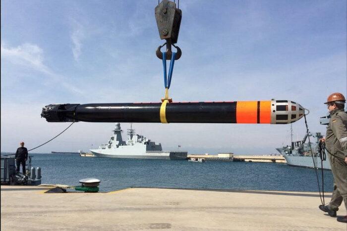 Тяжелая торпеда «Акья» ВМС Турции