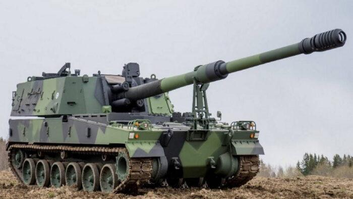 155-мм САУ K9 THUNDER от компании Hanwha
