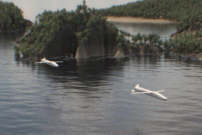 Группа КР Sea Breaker в полете