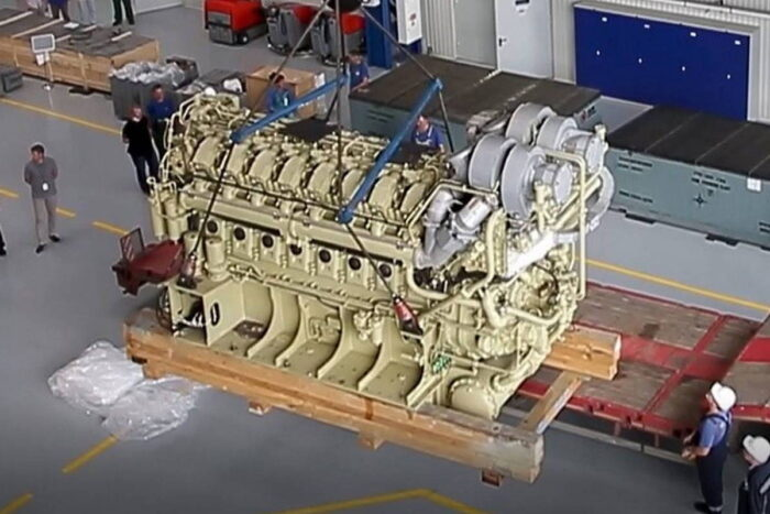 Дизель-газотурбинный агрегат М55Р